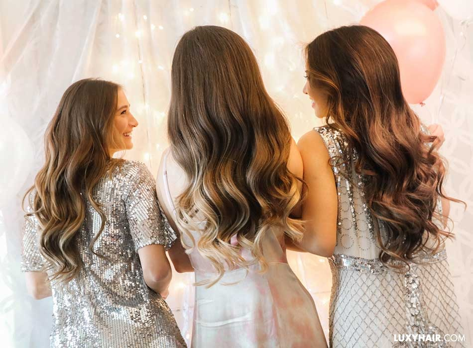 Hairstyles to hold With Promenade Dresses According To Their Back